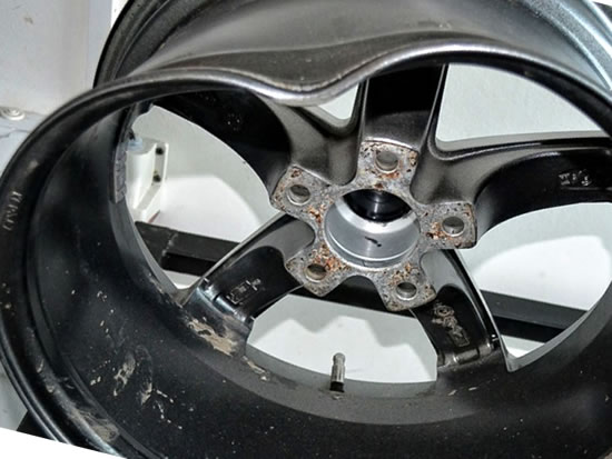 Правка литых дисков технология