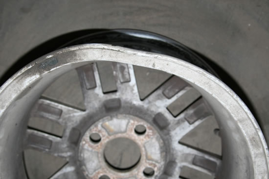 Локальный ремонт литых дисков
