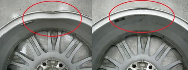 Ремонт сколов литых дисков