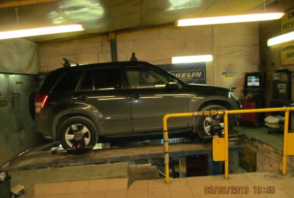 Сход-развал на японских автомобилях